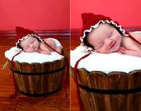 Smiling Baby-Infant Portraits-Newborns-Oklahoma Photographer-Photography-Family-Edmond-Guthrie-CrookedGlass Studios
